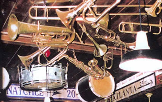 Decoracion tematica bares restaurantes cafe americano jazz musical original pubs retro vintage  (3)